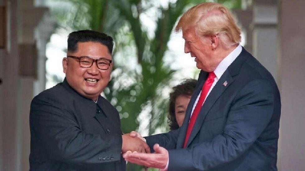ترامب يعلق على صحة كيم جونغ أون