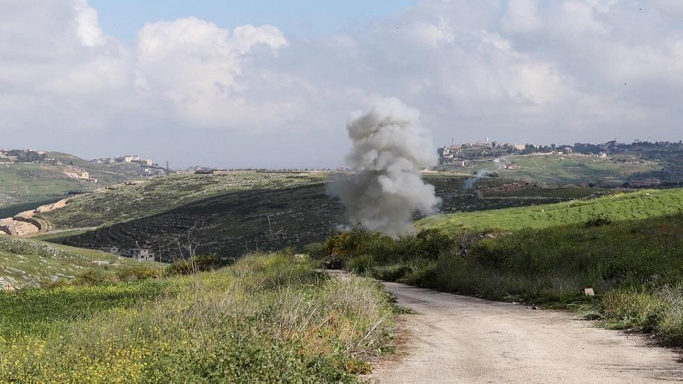 تحطم طائرة مسيرة إسرائيلية في جنوب لبنان أرشيف