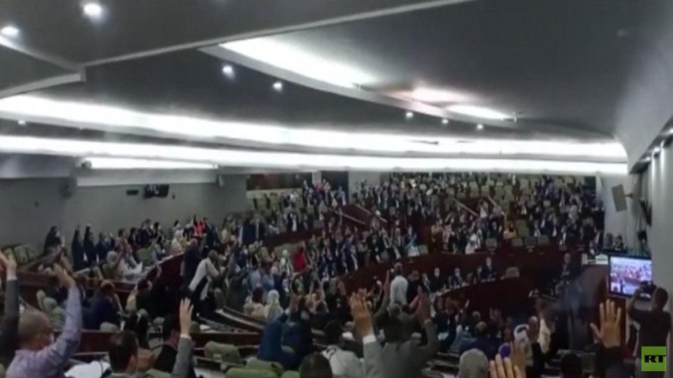 برلمان الجزائر يصدق مشروع التعديل الدستوري