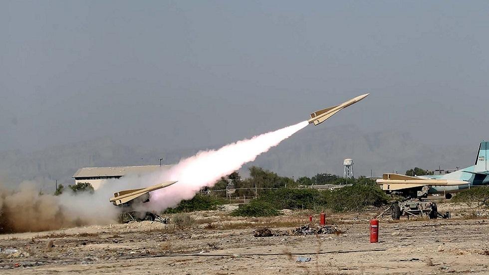إطلاق صاروخ ضمن مناورات