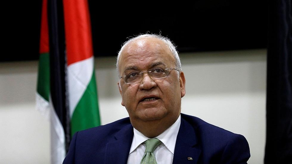 عريقات: تم تبني جميع بنود المشروع الفلسطيني في الجامعة العربية