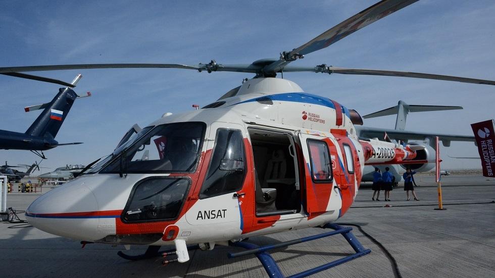 الهيئات الطبية في روسيا تتسلم مروحيات إسعاف متطورة
