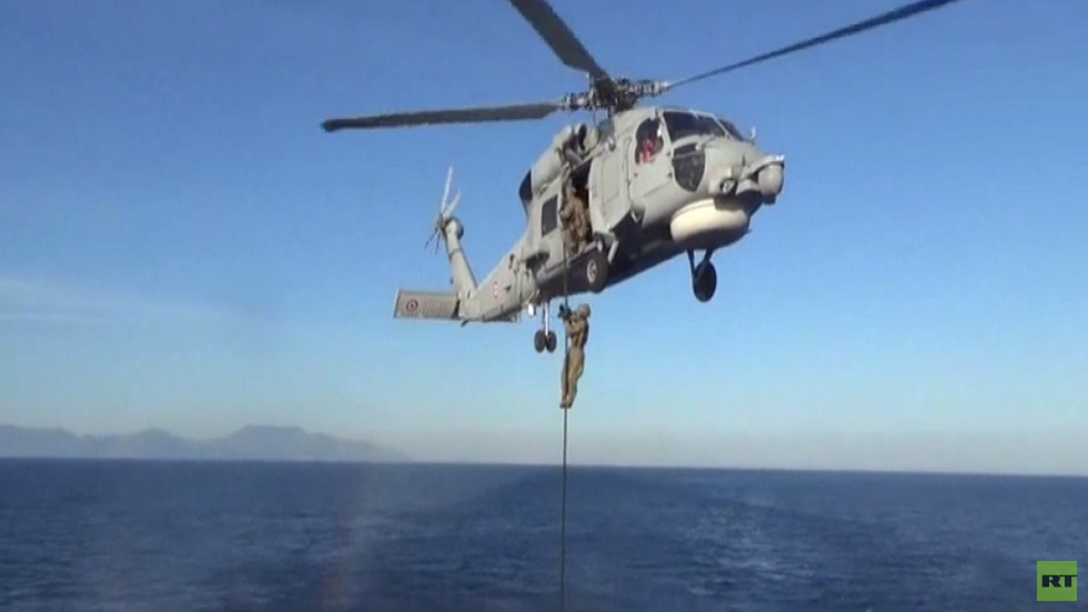 تدريبات عسكرية تركية قبالة سواحل ليبيا
