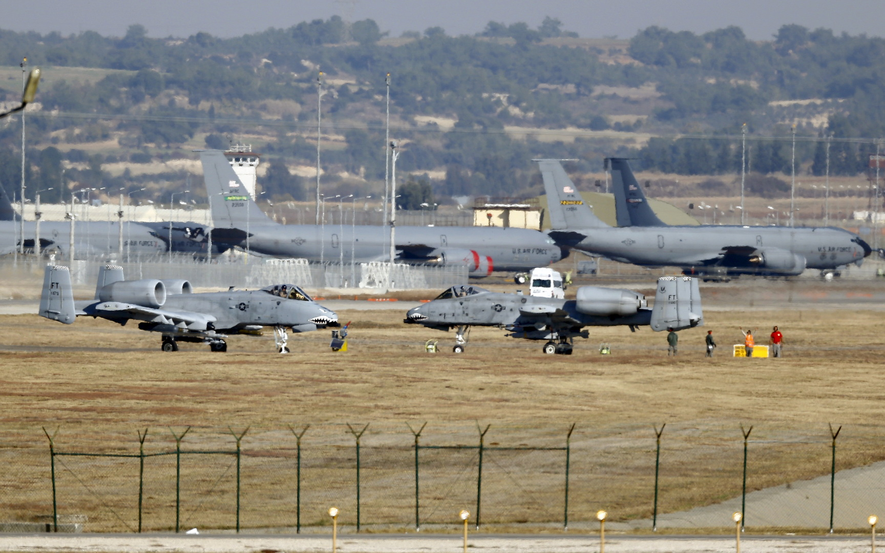 سيناتور أمريكي: واشنطن تدرس نقل قواتها من إنجرليك التركية إلى اليونان
