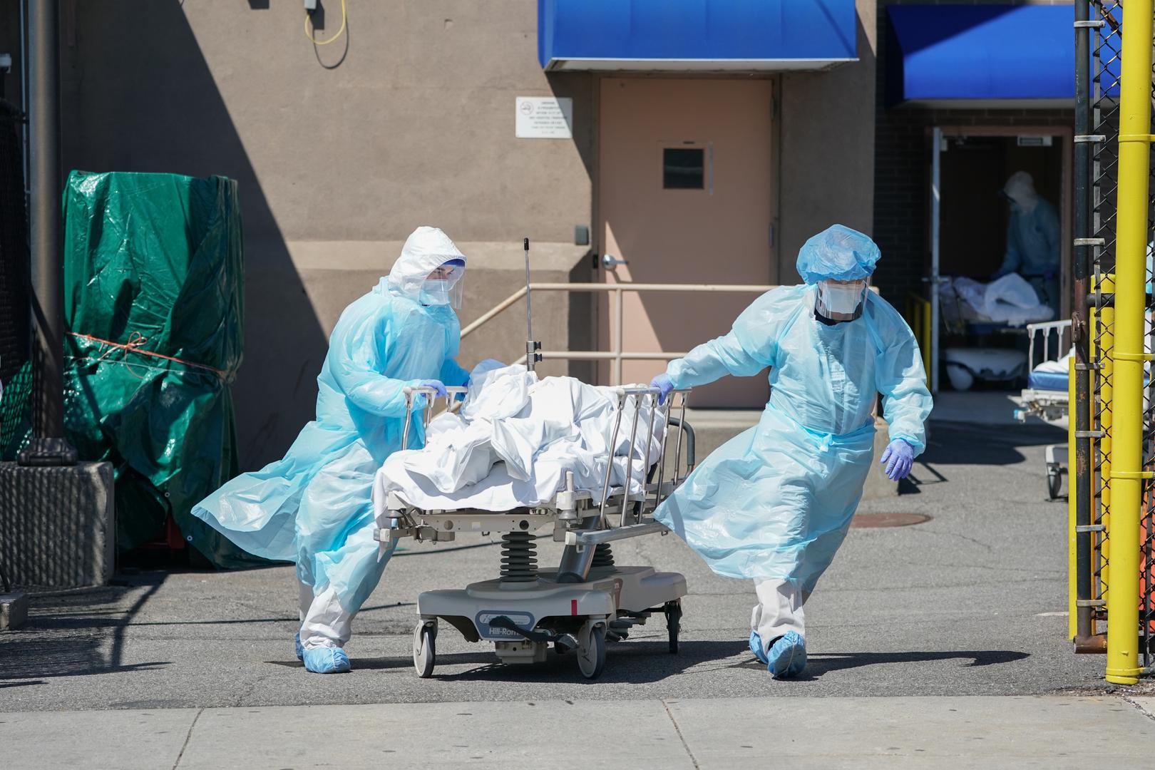 الولايات المتحدة.. تسجيل أكثر من 40 ألف إصابة و807 وفيات جديدة بكورونا