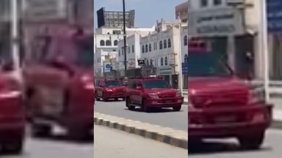 موكب السلطانالعماني هيثم بن طارق آل سعيد