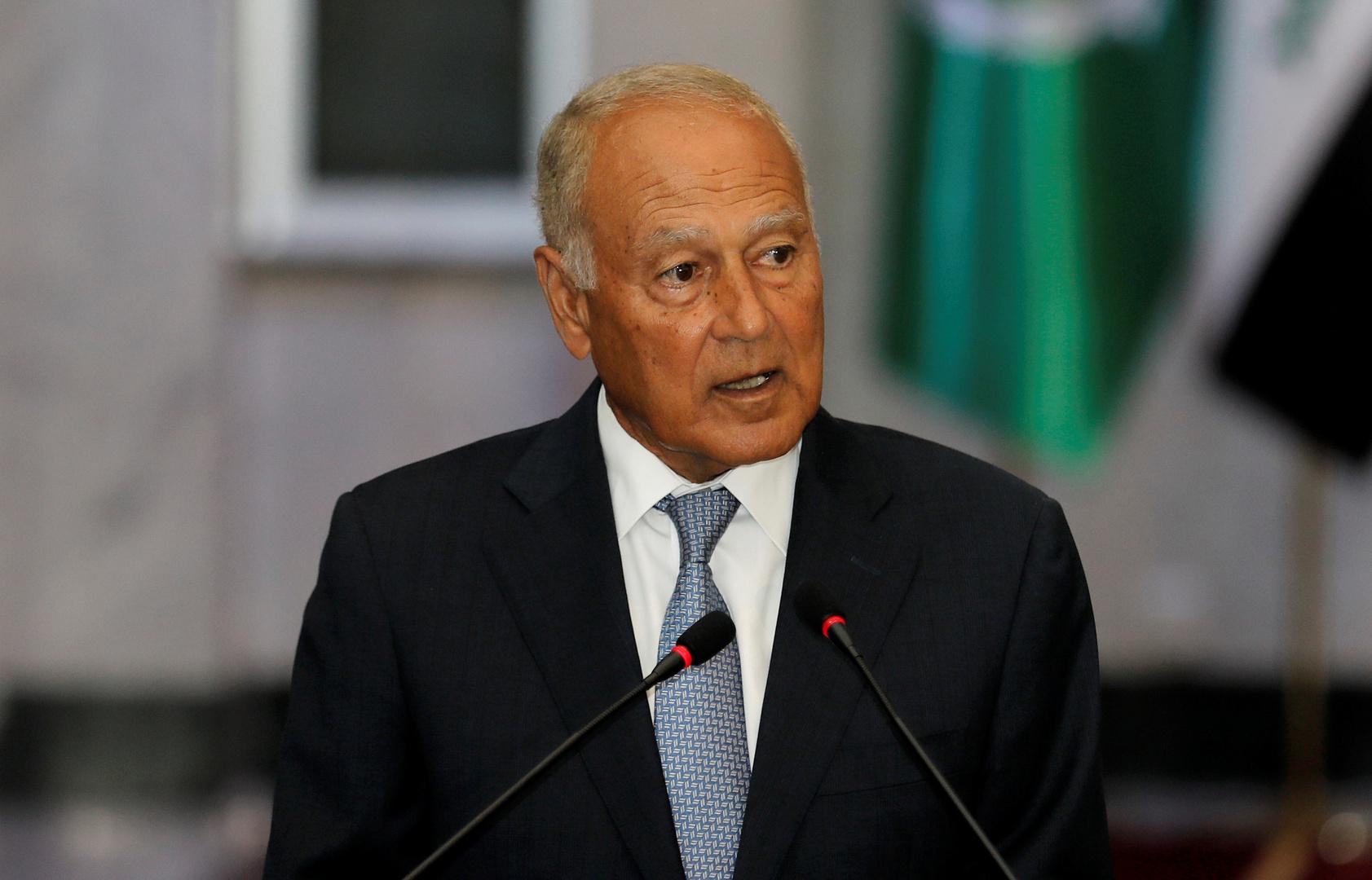الأمين العام لجامعة الدول العربية أحمد أبو الغيط.