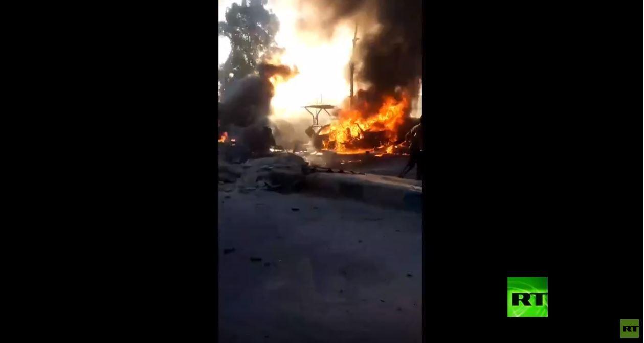 قتلى وجرحى في تفجير هز عفرين السورية