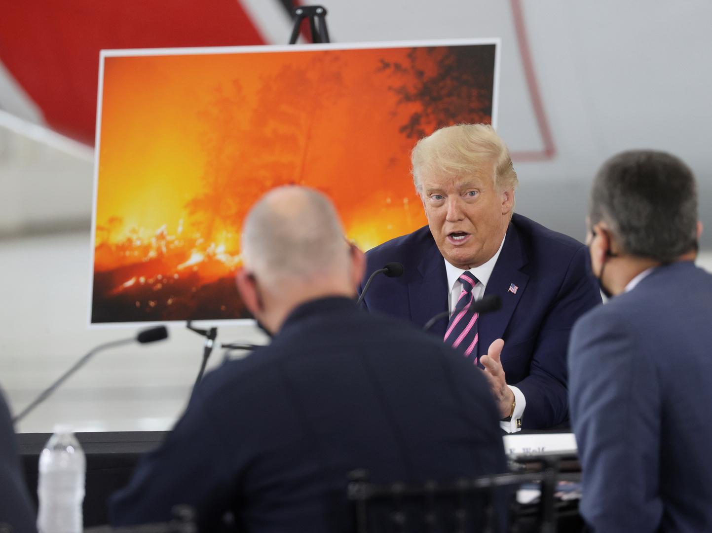 ترامب يتوقع تراجع الدفء العالمي