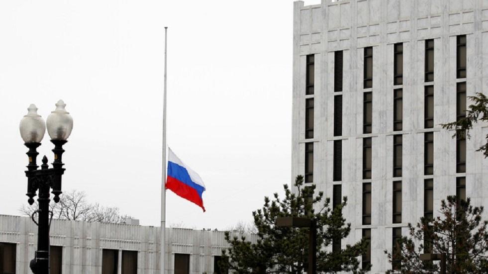 السفارة الروسية ترد على زعم البنتاغون بشأن التهديد الروسي