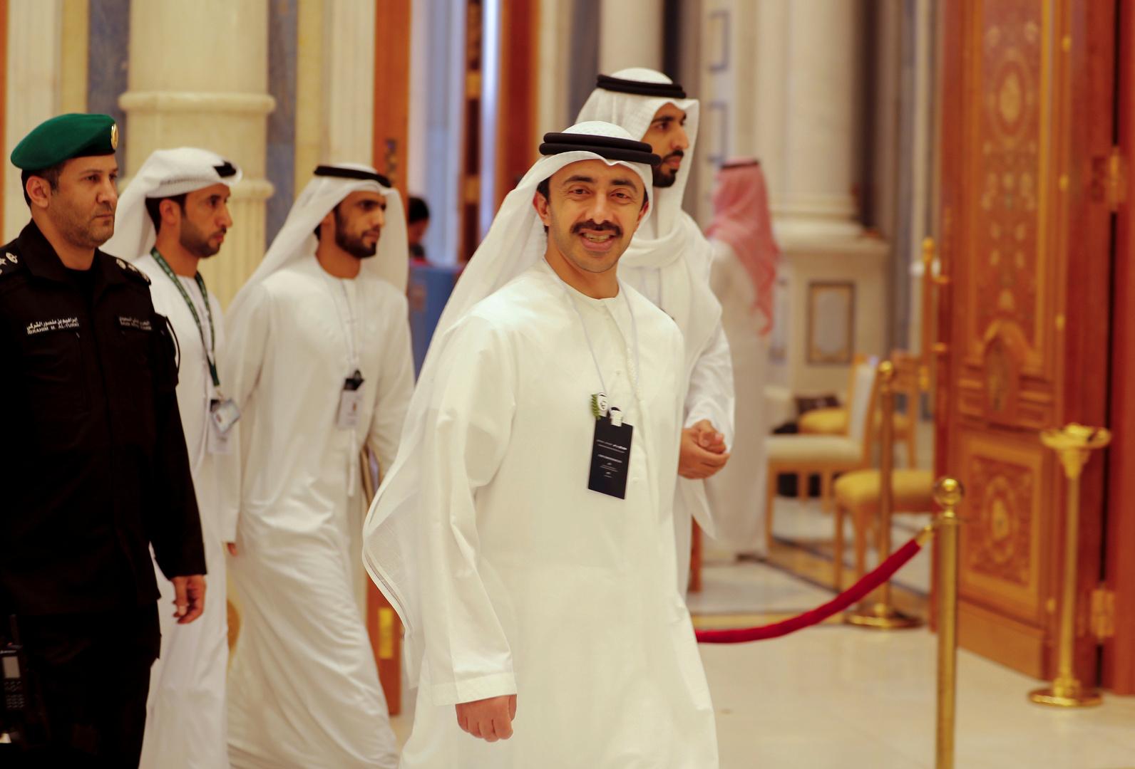 وزير الخارجية الإماراتي في مقال: الإمارات وإسرائيل وكل دول المنطقة مرهقة من المواجهات