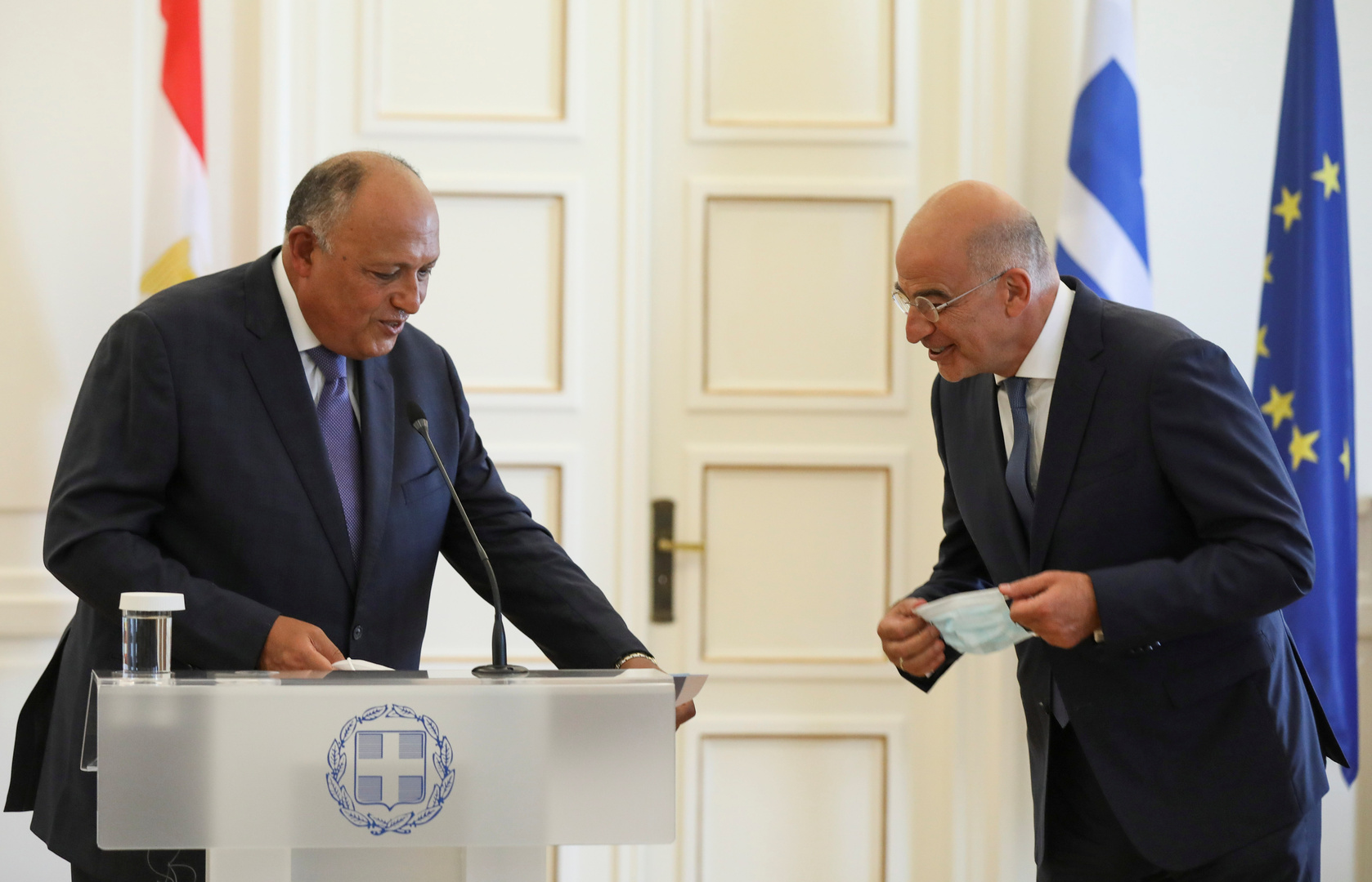 مصر تصدر بيانا بشأن التصرفات شرق المتوسط وتطورات الاتفاق الإسرائيلي مع الإمارات والبحرين