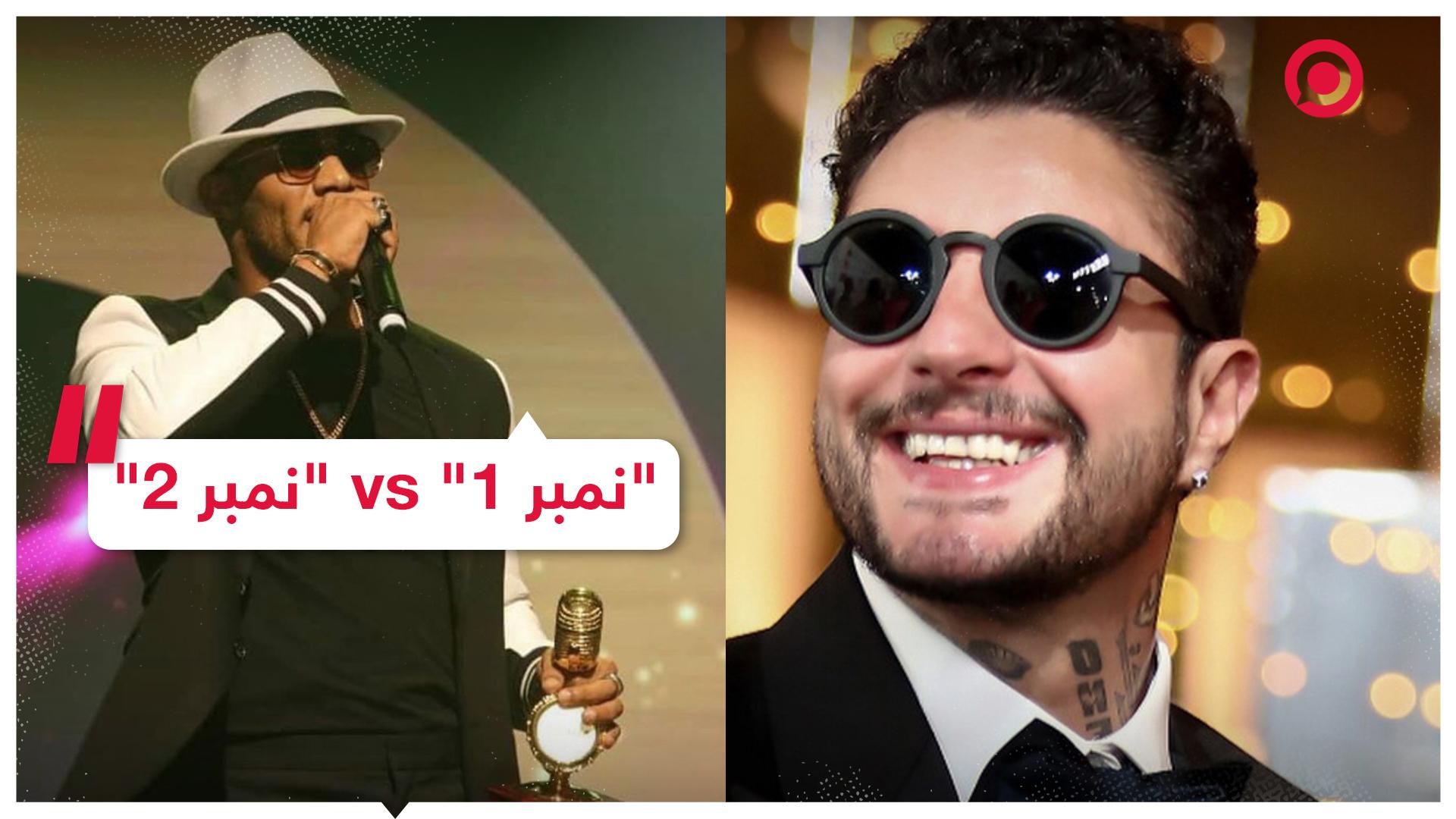 """الفنان المصري أحمد الفيشاوي يسخر من محمد رمضان بأغنية """"نمبر 2"""" والأخير يرد عليه"""