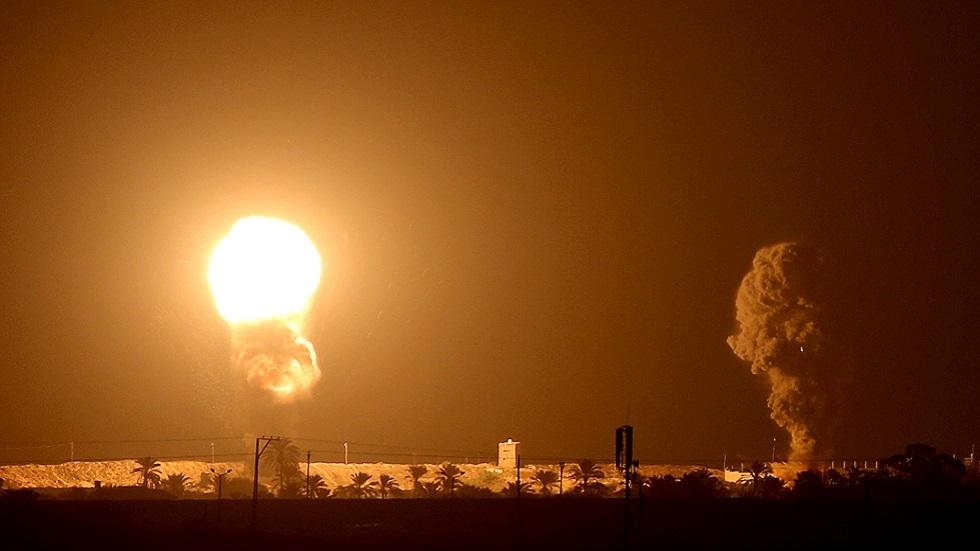 غارات جوية إسرائيلية تستهدف مواقع لـ