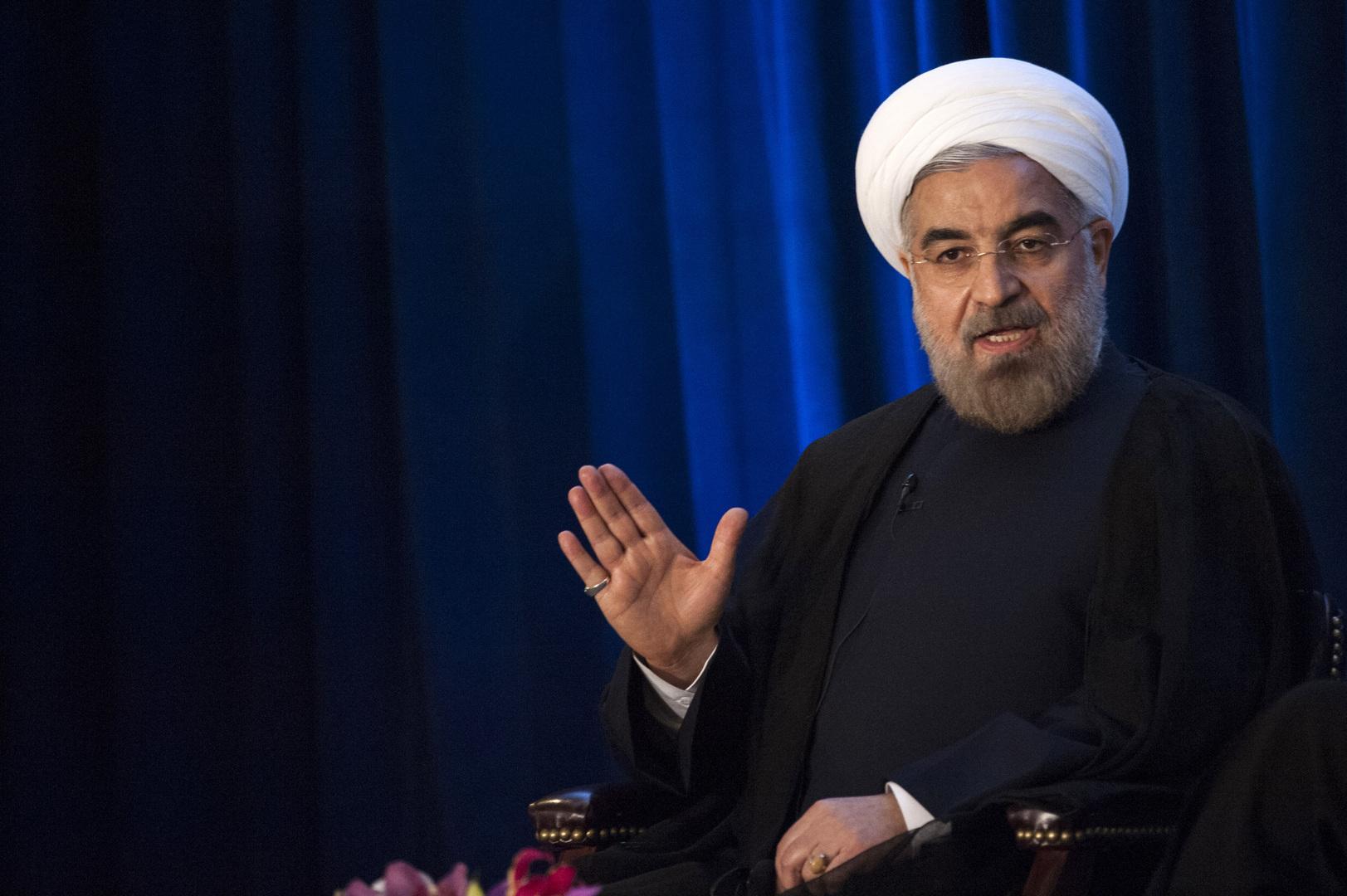 روحاني: الإمارات والبحرين تسعيان إلى منح إسرائيل قواعد في المنطقة وعليهما تحمل كافة العواقب الوخيمة