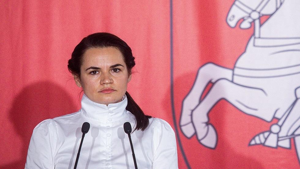 زعيمة المعارضة البيلاروسية: سنعطي لوكاشينكو ضمانات أمنية إذا رحل سلميا