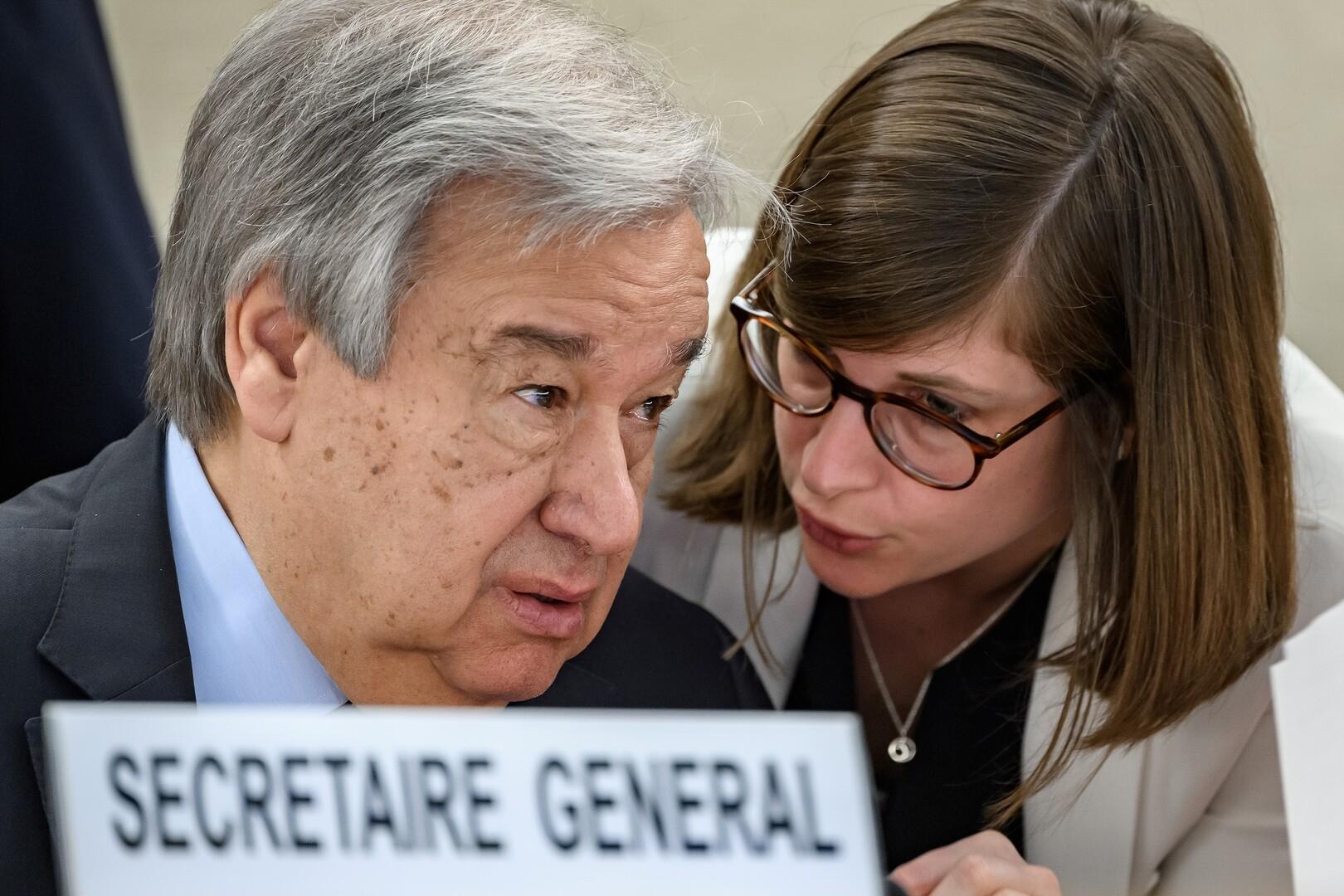 الأمين العام للأمم المتحدة يصف توجها لدول غنية بـ