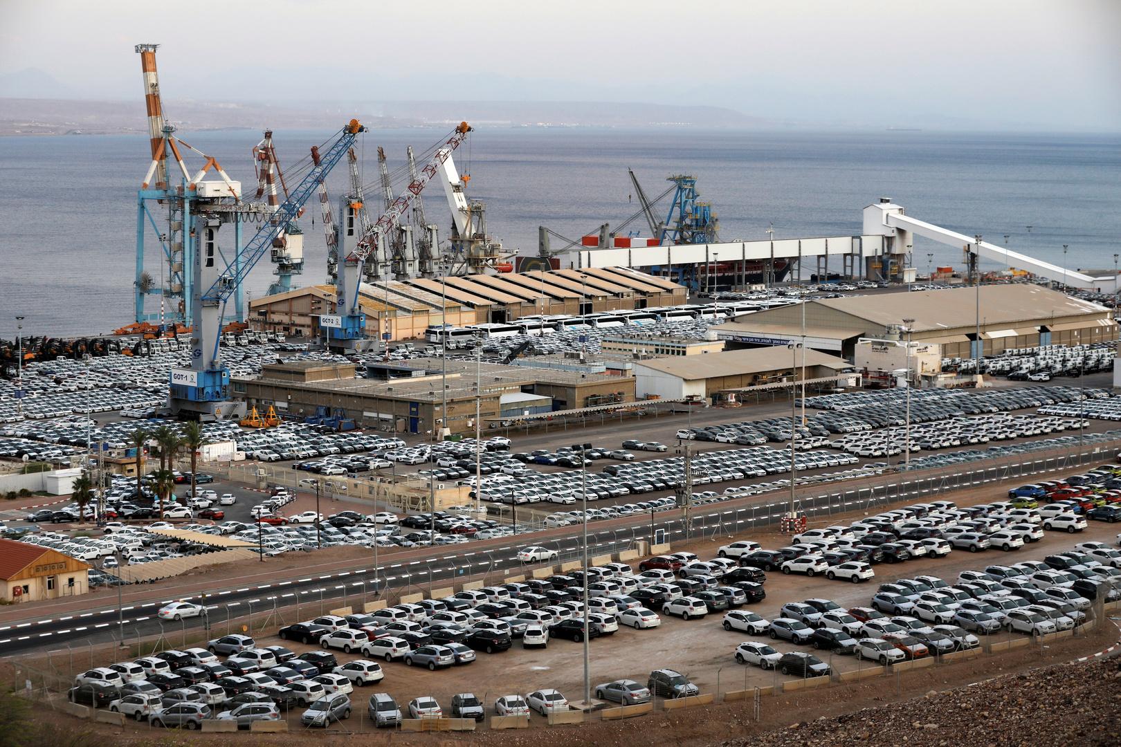 خط شحن بحري مباشر بين دبي وإيلات