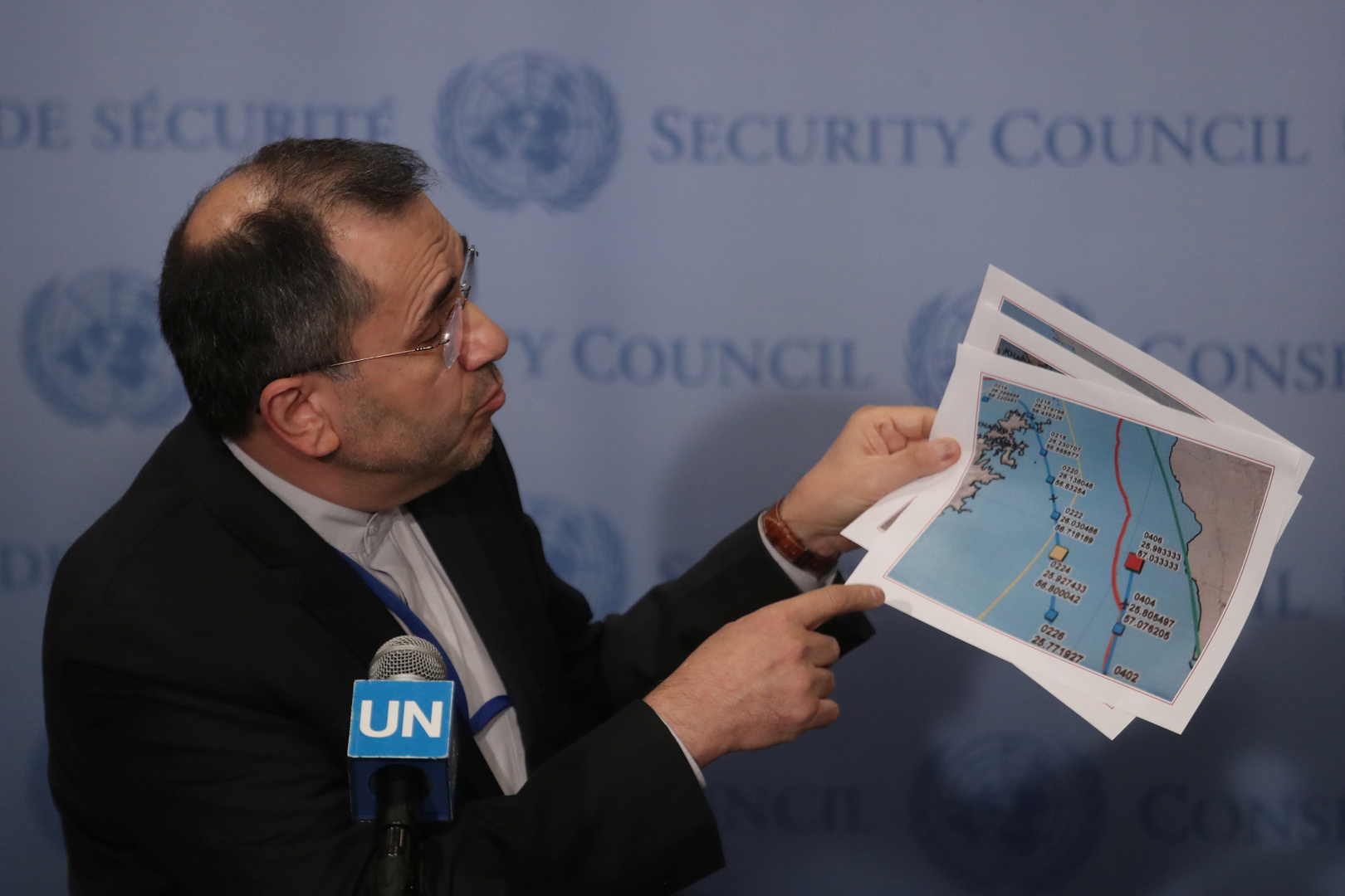 إيران تحذر في رسالة للأمم المتحدة ومجلس الأمن من