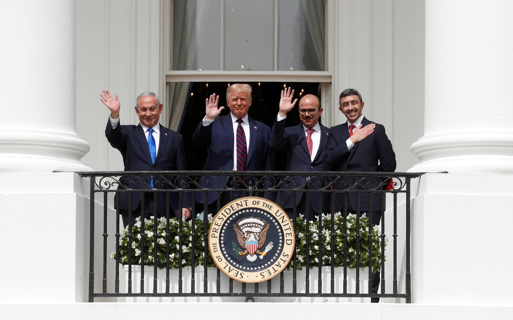 ترامب قرّب الإمارات والبحرين من إسرائيل