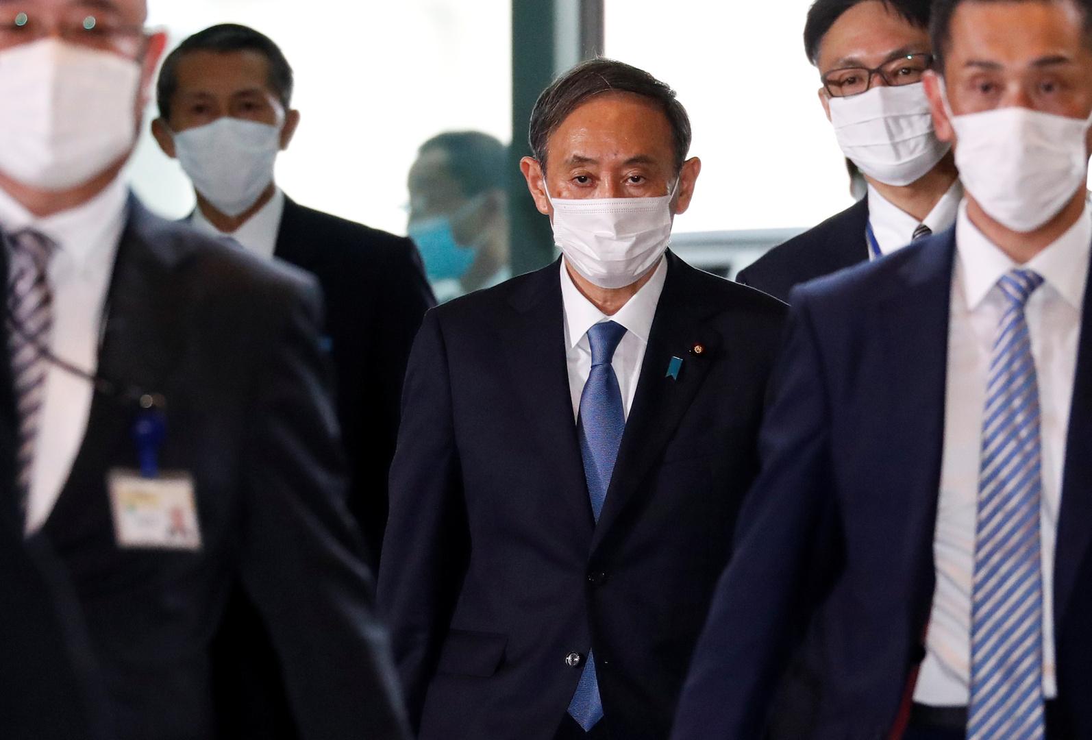 يوشيهيدي سوجا رئيس الوزراء الياباني