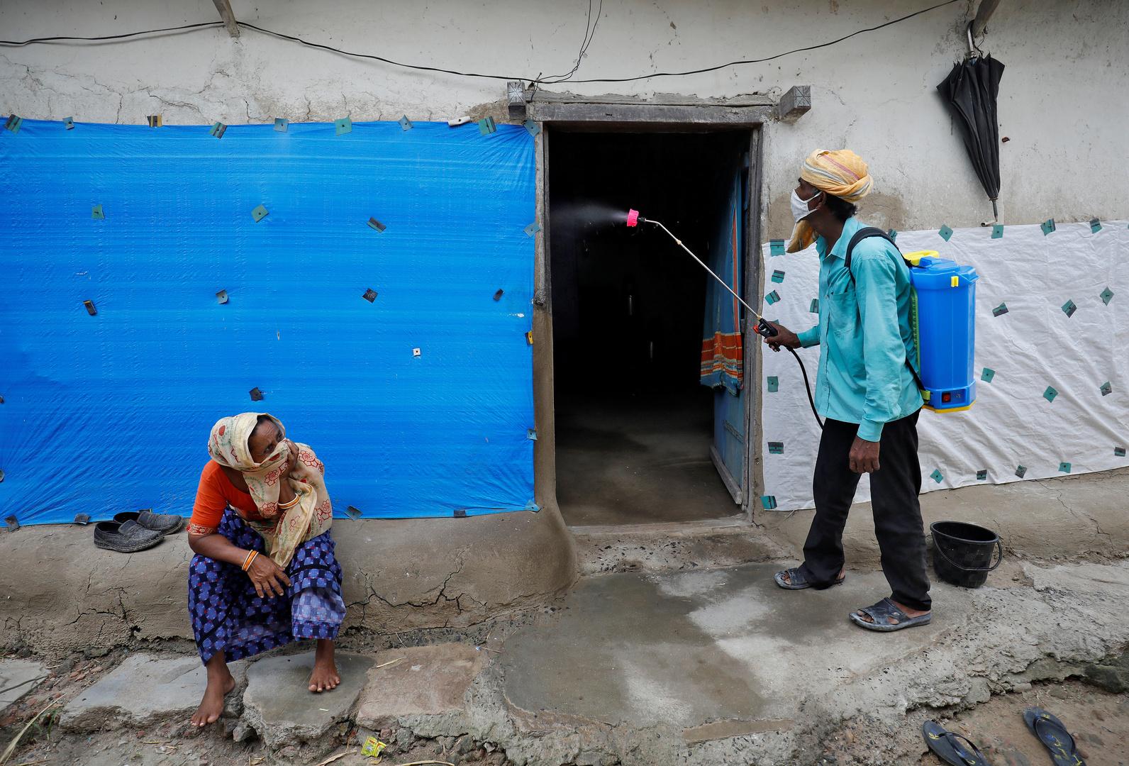 الهند تتخطى عتبة الـ5 ملايين إصابة مؤكدة بفيروس كورونا