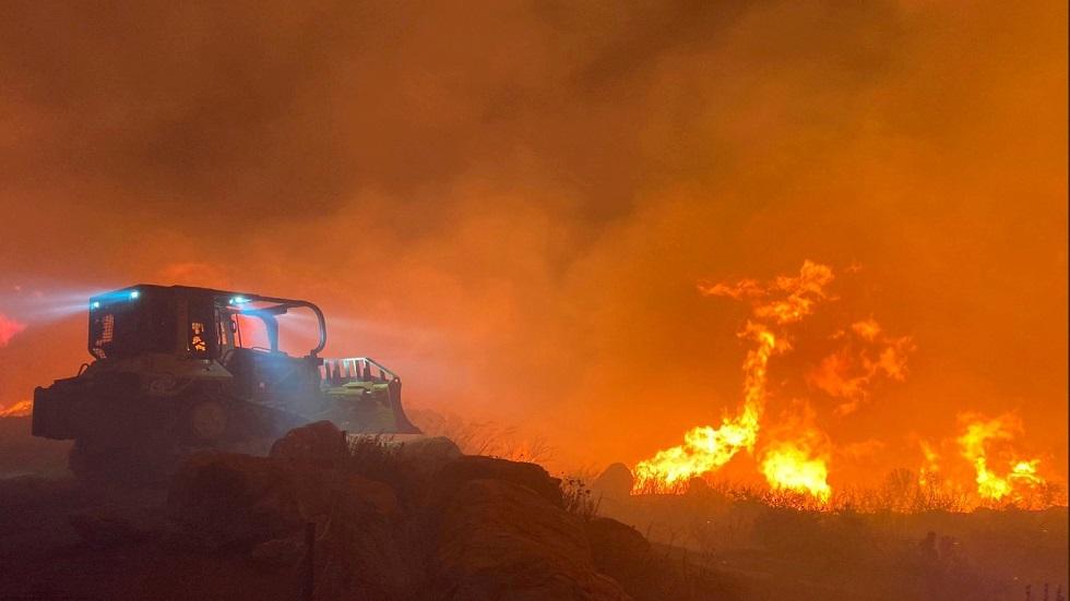 دخان حرائق الغابات الأمريكية يصل أوروبا.. فيديو