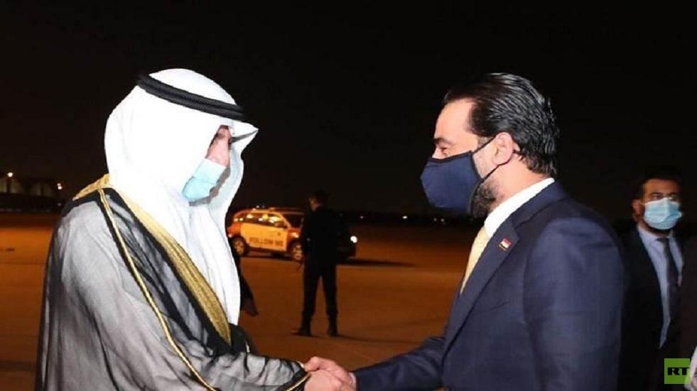 الحلبوسي يصل إلى الكويت في زيارة رسمية
