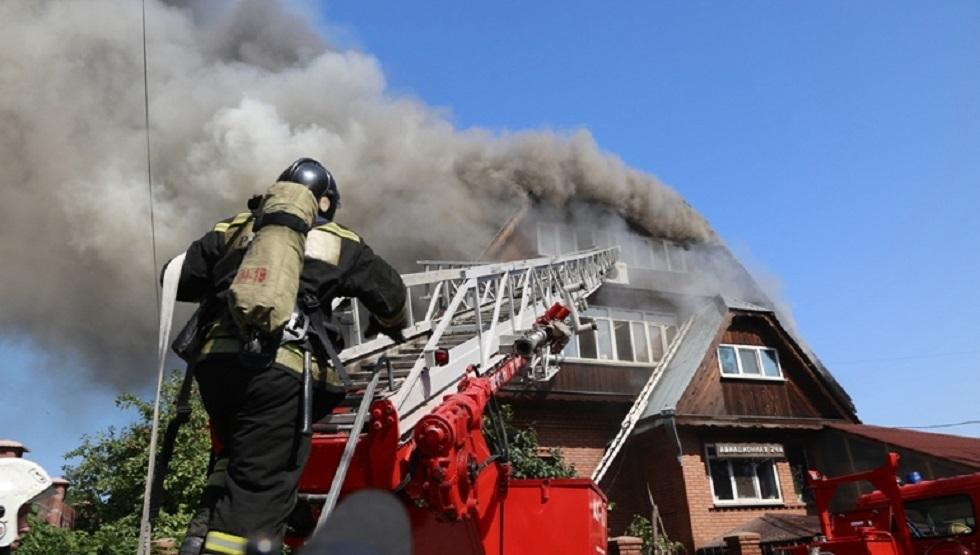 روسيا.. مصرع 4 أشخاص جراء حريق في مشفى للمدمنين