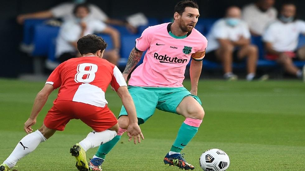 شاهد.. ميسي يبدع أمام جيرونا بعد إنهاء أزمته مع برشلونة