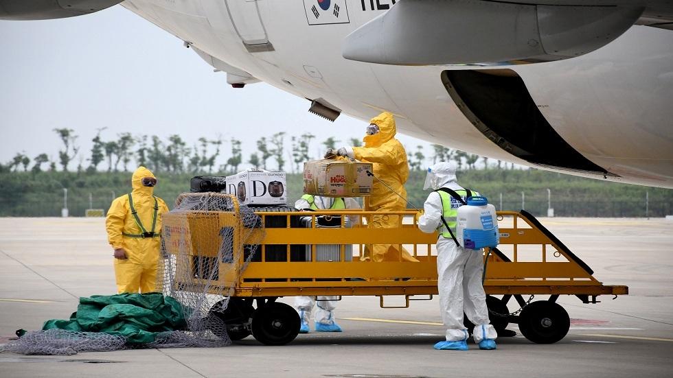 ووهان الصينية تستقبل أول رحلة جوية دولية منذ يناير