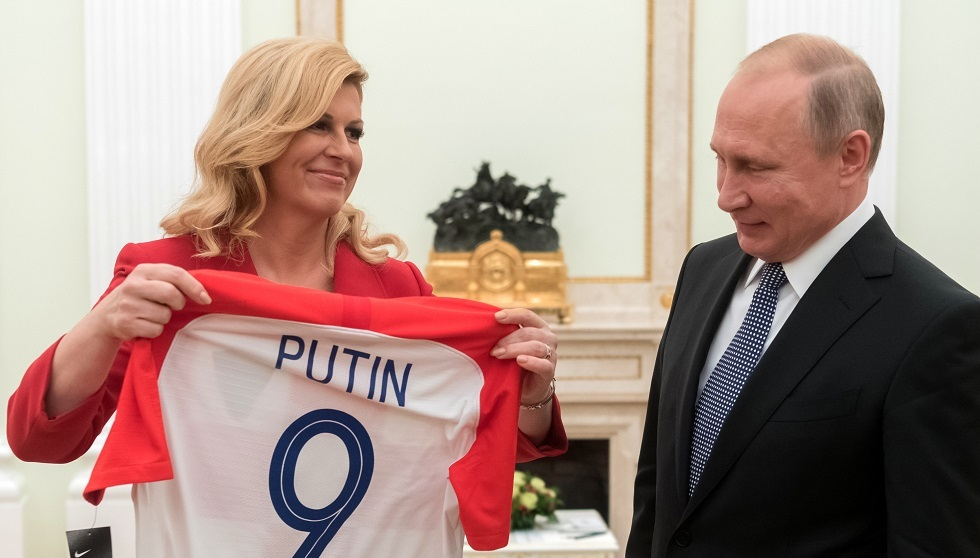 الكرواتي أوليتش يكشف الفريق الذي شجعه الرئيس بوتين عام 2005