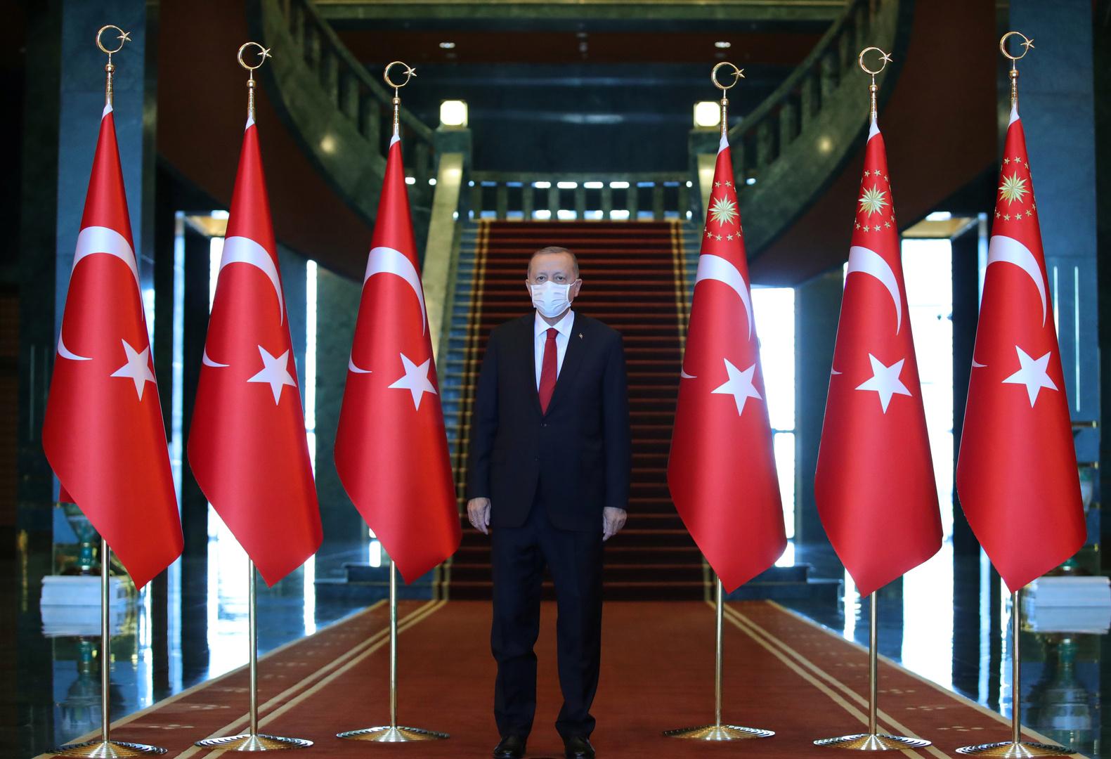أردوغان: تركيا مستاءة من استقالة السراج ولا مانع لدينا من الحوار مع مصر