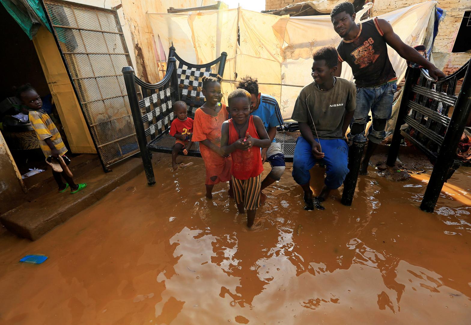 الفيضانات في السودان.