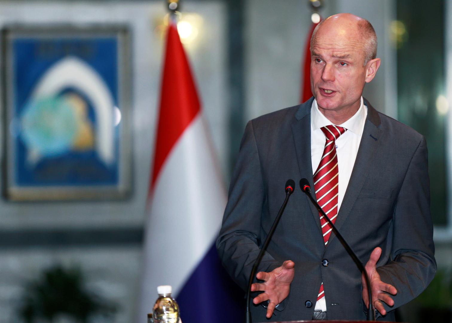 وزير الخارجية الهولندي ستيف بلوك