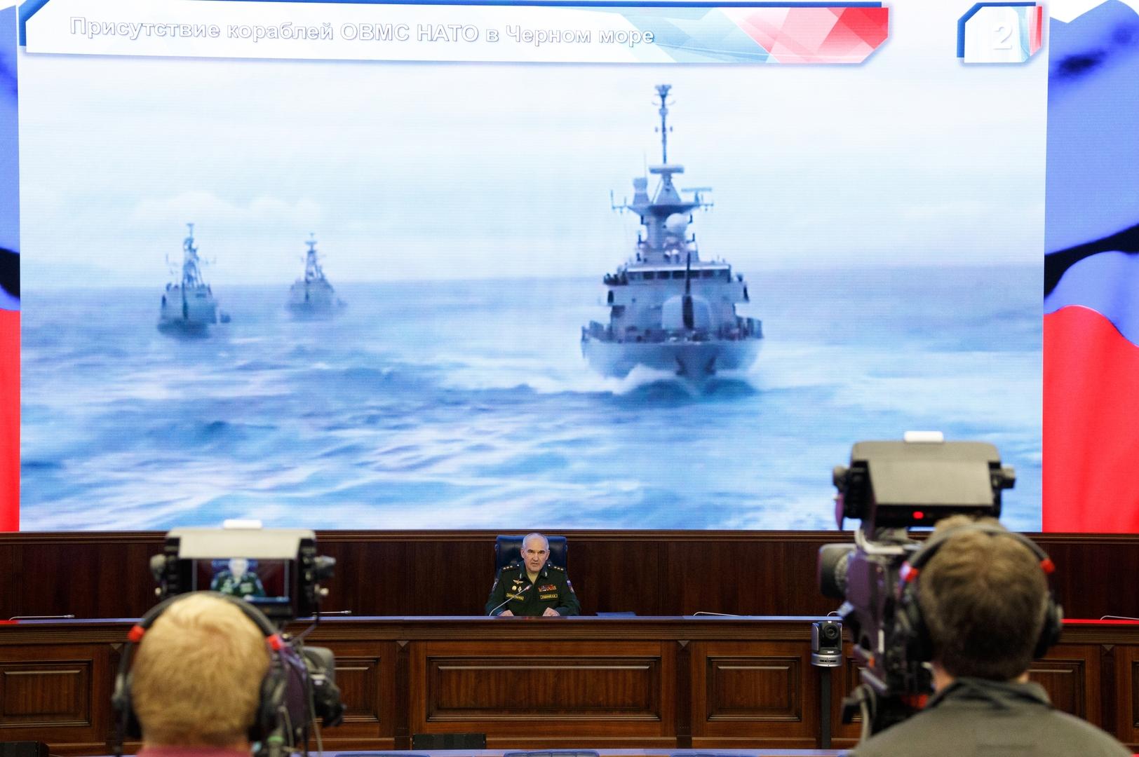 روسيا تحذر من تكثيف الناتو أنشطته في البحر الأسود