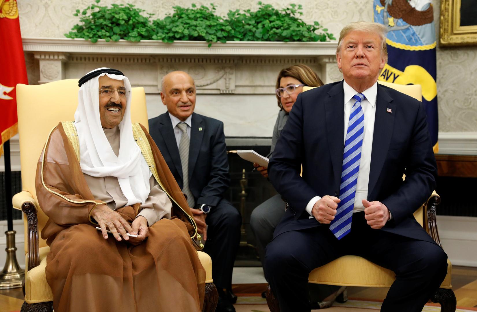 لأول مرة منذ 1991.. ترامب يمنح أمير الكويت وسام الاستحقاق العسكري برتبة قائد أعلى