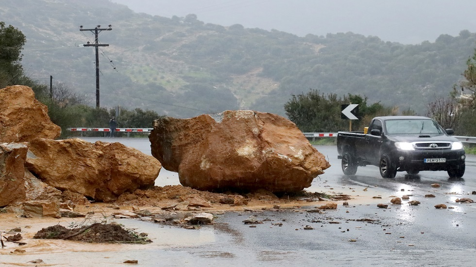 زلزال قوي يهز جزيرة كريت اليونانية