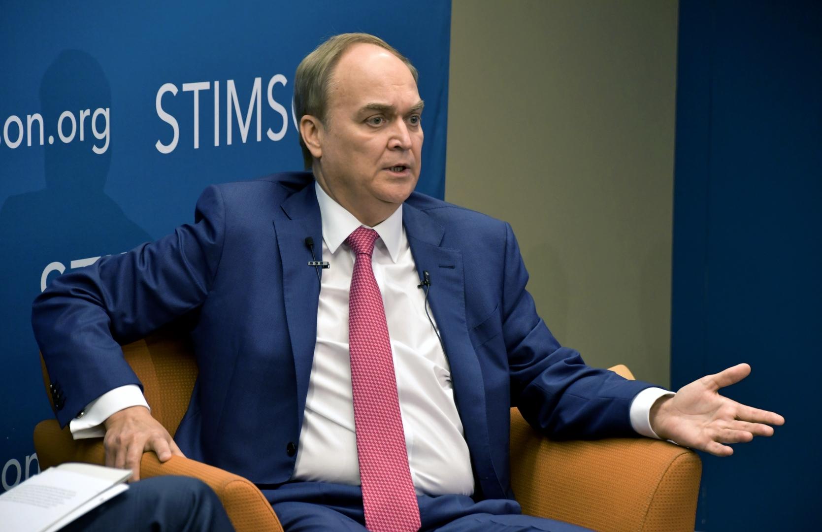 السفير الروسي بواشنطن أناطولي أنطونوف