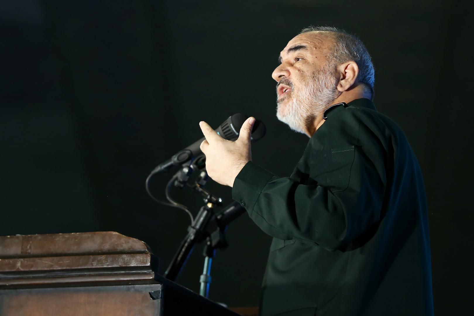 قائد الحرس الثوري في إيران حسين سلامي