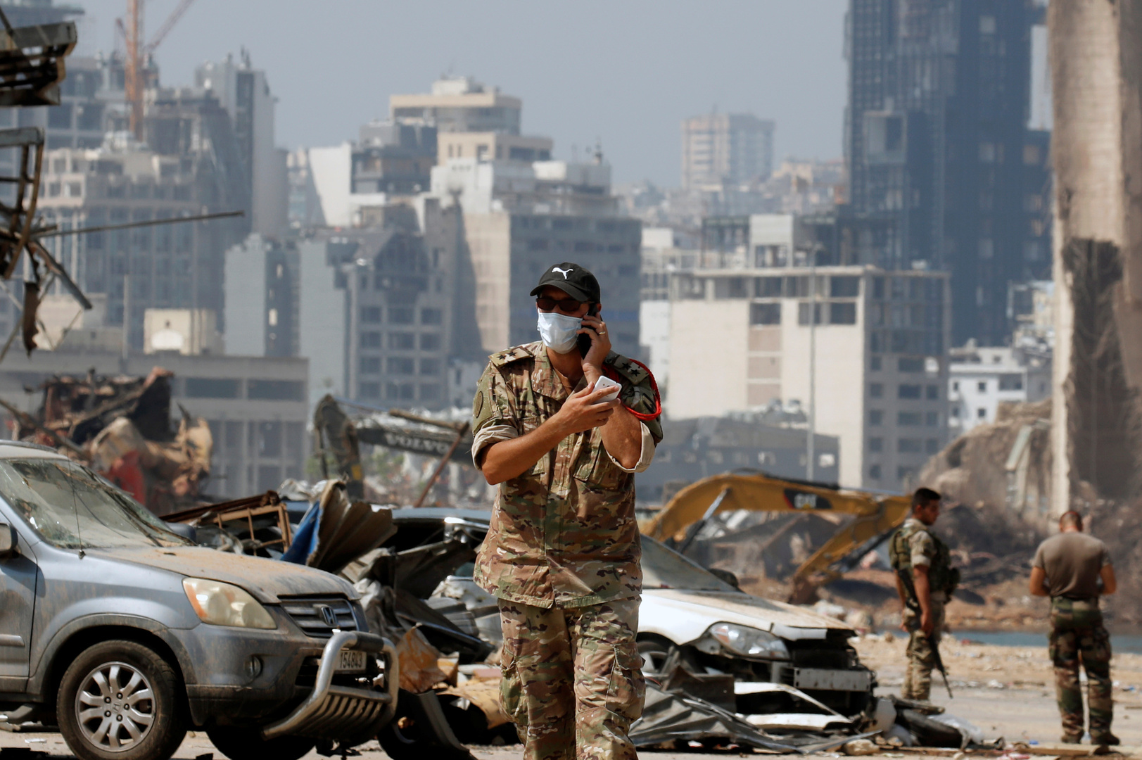 الجيش اللبناني: لا يزال هناك 9 مفقودين جراء انفجار مرفأ بيروت