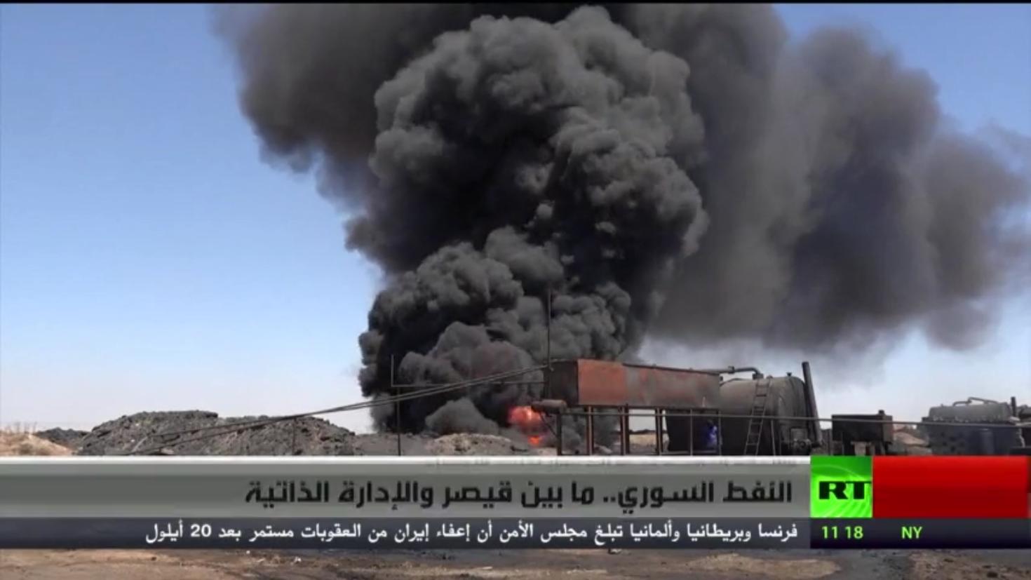 النفط السوري.. ما بين قيصر والإدارة الذاتية