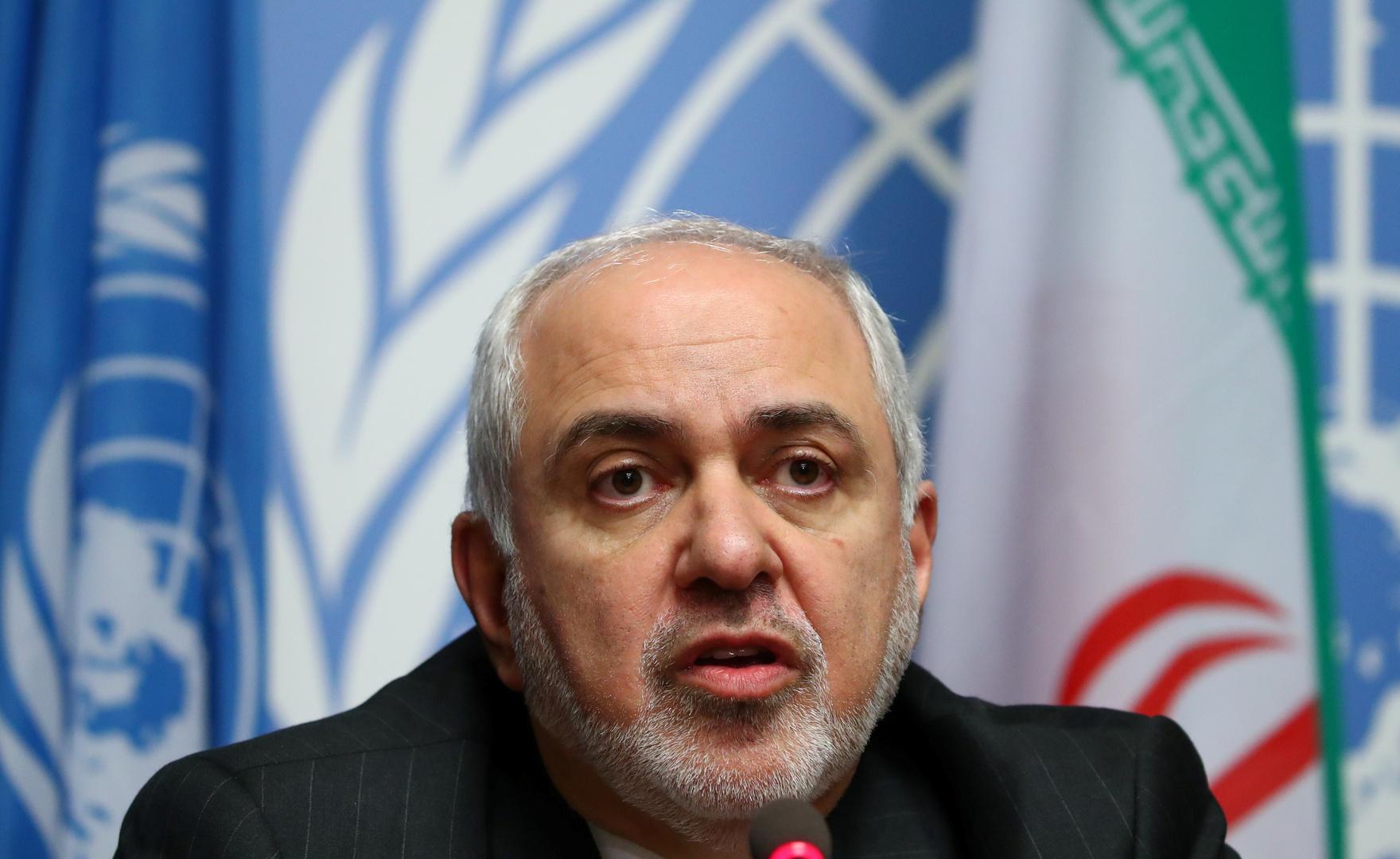 وزير الخارجية الإيراني، محمد جواد ظريف.
