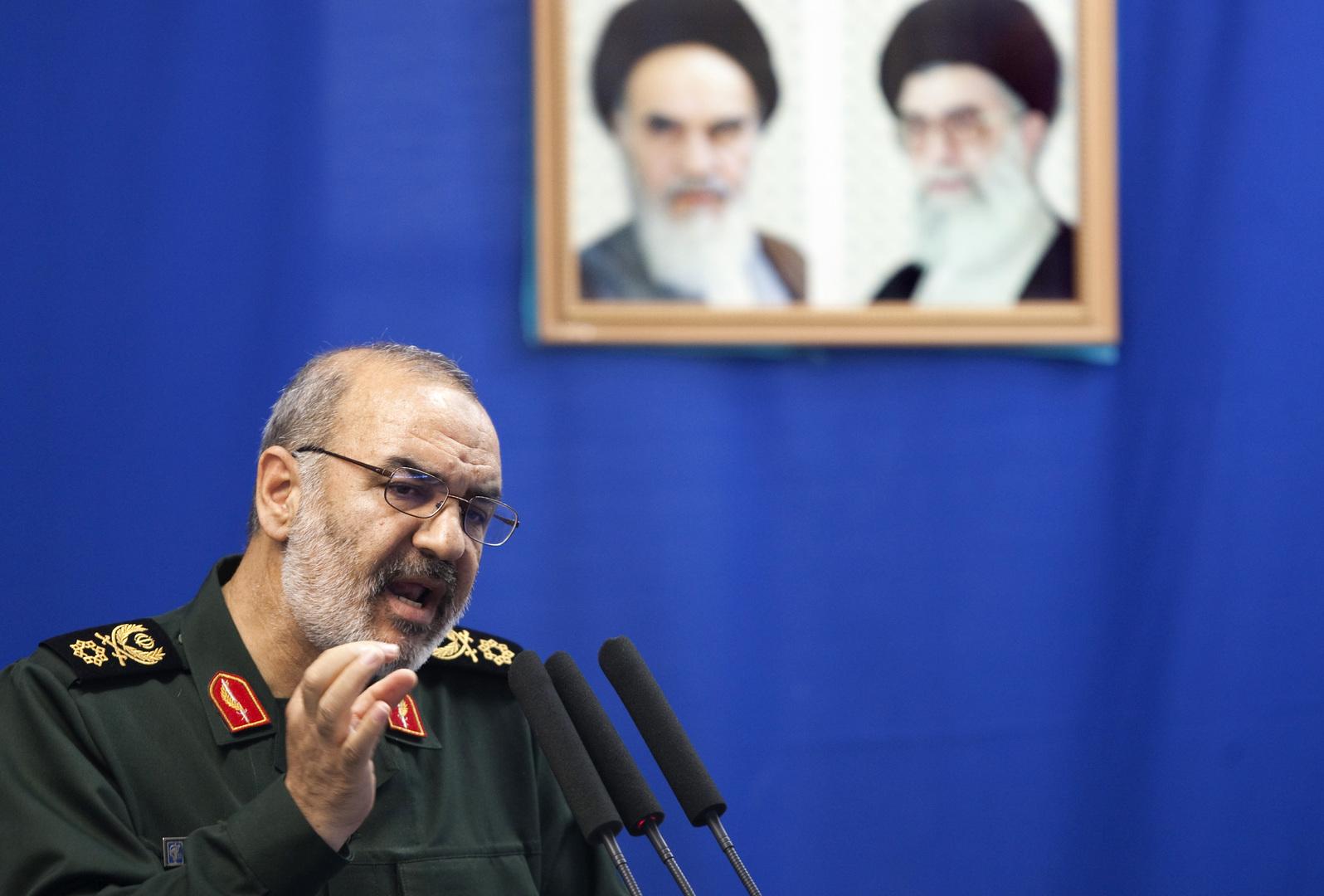 قائد الحرس الثوري الإيراني: لدينا خطط لاحتلال قواعد أمريكية بالمنطقة