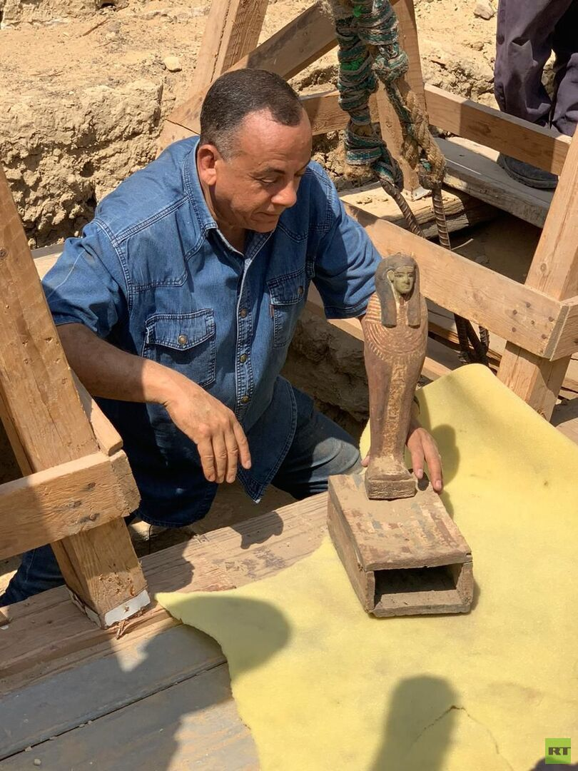 مصر.. اكتشاف عشرات التوابيت الجديدة في منطقة سقارة الأثرية
