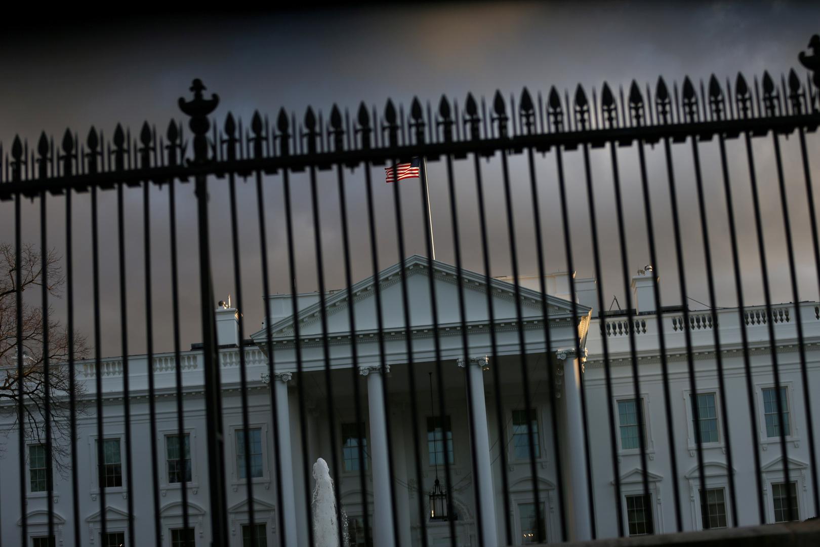 البيت الأبيض.