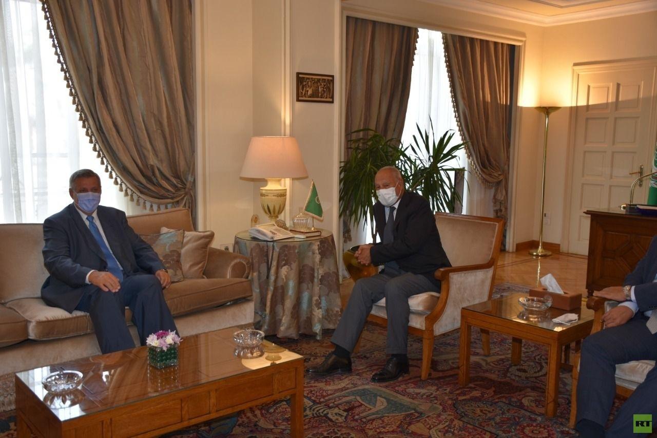 أبو الغيط يؤكد لمنسق الأمم المتحدة للبنان على أهمية الإسراع بتشكيل حكومة جديدة في لبنان