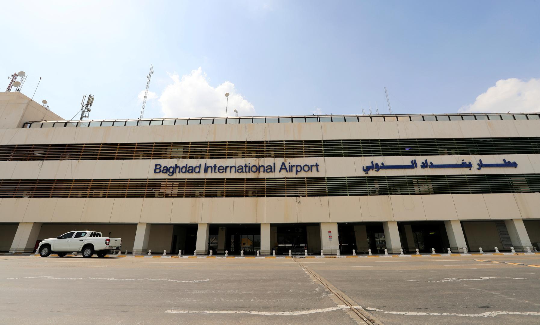 مطار بغداد الدولي يتعرض لهجوم صاروخي جديد