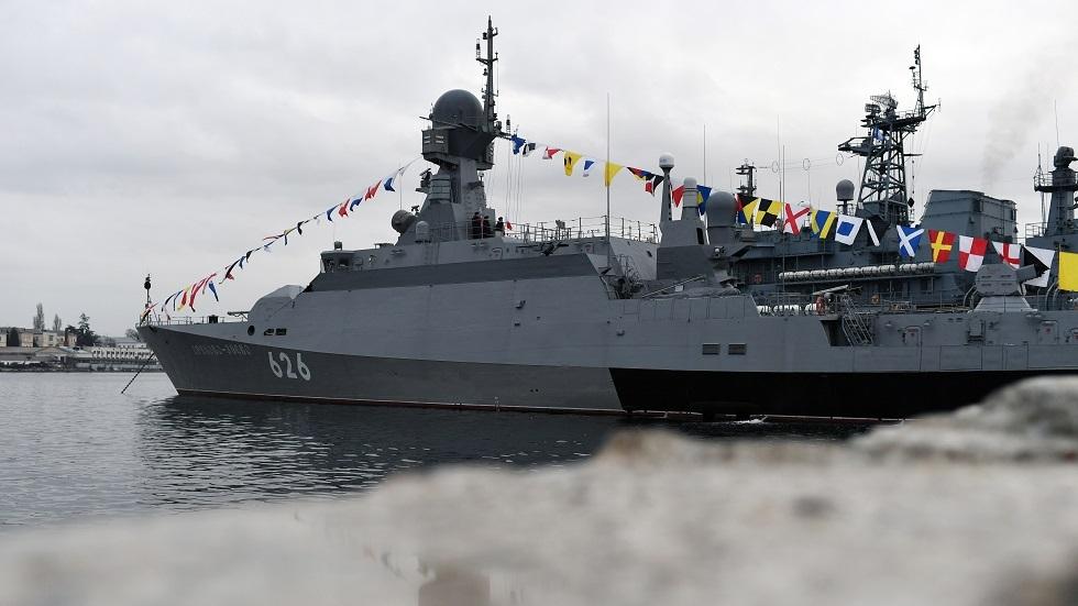روسيا تختبر سفينة صاروخية جديدة