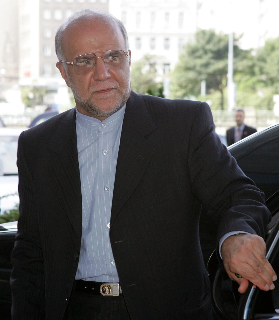 وزير النفط الإيران بيجن نمدار زنغنه.